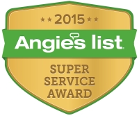 Angie's List 2015 Super Service Award Badge